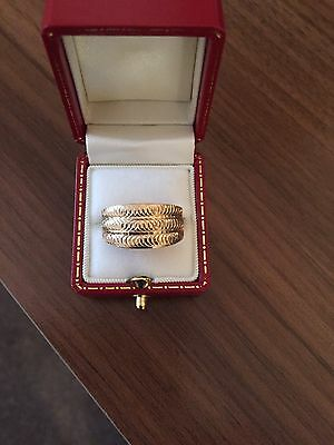 Lovely 9Ct Yellow Gold Ring From Qvc Size R.