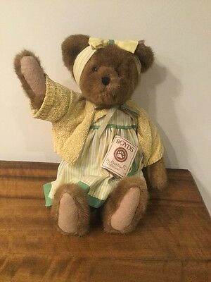 Boyds Bear 'Lucy Mclemon' Perfect Condition With Tag Collectible