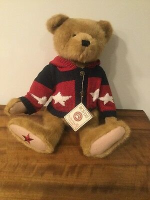 Boyds Bear 'Dee C. Washington' Perfect Condition With Tag Collectible