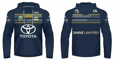 NQ Cowboys 2017 NRL Jersey Hoody/Hoodie Adults and Kids Sizes Made By ISC