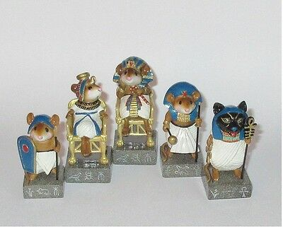 Wee Forest Folk - 5 CHESS PIECES, BLUE
