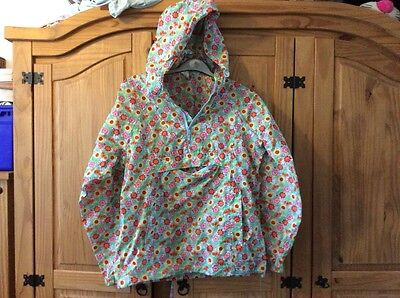 Cath Kidston Waterproof Jacket Size Small/8-10 Music Festivals Camping