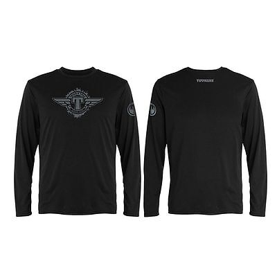 Tippmann T-Shirt - Winged Long Sleeve - Black - XL