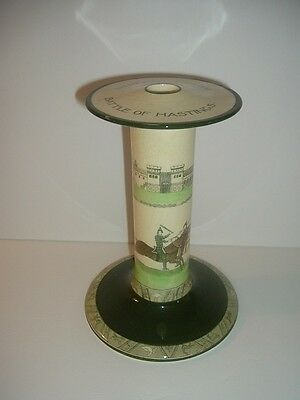 Royal Doulton Bayeux Tapestry Battle of Hastings Big Candlestick Candle Holder