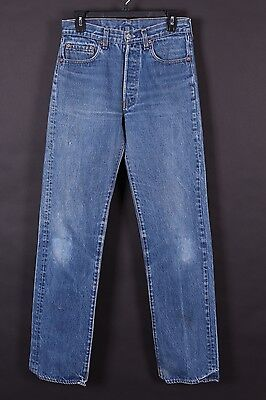 Vtg Levis 501 Buttonfly High Waist Mom Boyfriend Denim Jeans Usa Size 29-34