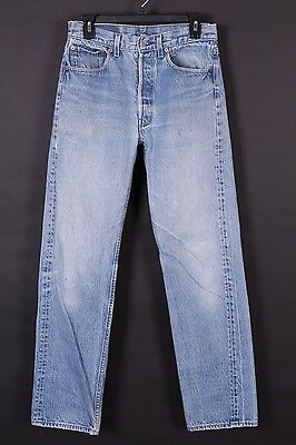 Vtg Levis 501 Buttonfly High Waist Mom Boyfriend Denim Jeans Usa 28-32