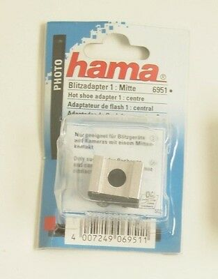 Hama Hot Shoe Adapter Mitte 6951 Camera Flash Adaptor Centre