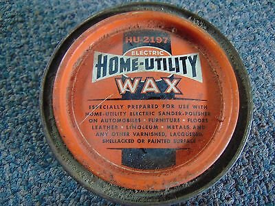 Vintage Hu-2197 Electric Home Utility Wax Can Black And Decker Unused