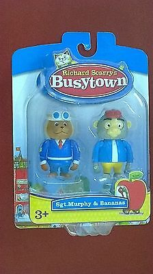 RICHARD SCARRY'S BUSYTOWN 40200 Sgt Murphy and Bananas NEW