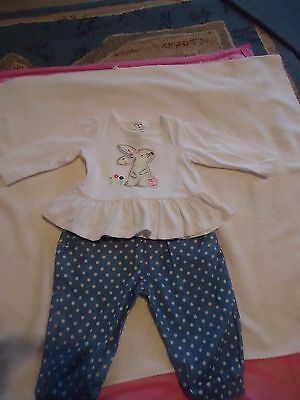 Baby girls outfit NEW size 00 To fit 6 months