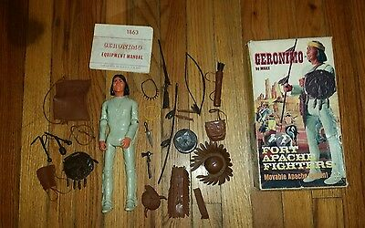 MARX(JOHNNY WEST) GERONIMO w/COMPLETE ACCESSORIES, BOX & MANUAL