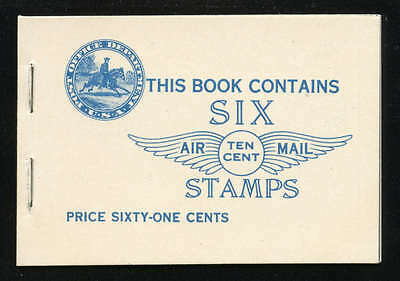 1927 LINDBERGH AIRMAIL COMPLETE BOOKLET BKC1 (C10a X 2)