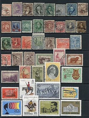 Argentina Collection Early Used - Later Mint, Nh