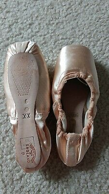 freed pro 90 pointe shoes 6 xx maltese cross