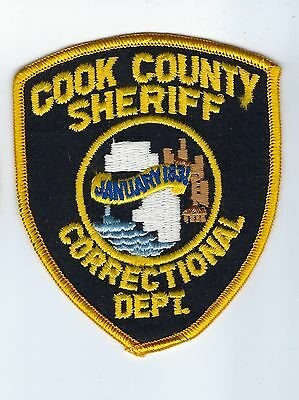Cook County IL Illinois Sheriff Correctional Dept. patch - NEW!