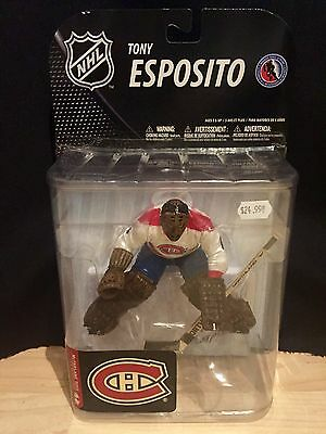 McFarlane Tony Esposito Figure NHL Hockey Montreal Canadiens NHL 19 New Sealed