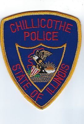 Chillicothe (Peoria County) IL Illinois Police Dept. patch - NEW!