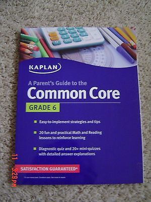 A Parent's Guide to the Common Core, Grade 6 by Kaplan Paperback Book (English)