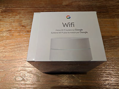 New Google Wifi AC1200 Dual Band Wi-Fi Router - White Sealed Item