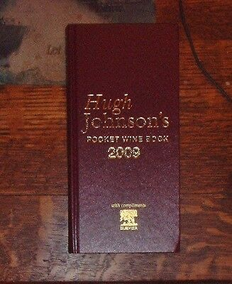 Fine Wine Pocket Book By Hugh Johnson Complete Knowledge Of Wine 2009