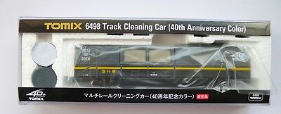 Tomix N Scale 6498 Track Cleaning Car 40 Anniversary Color
