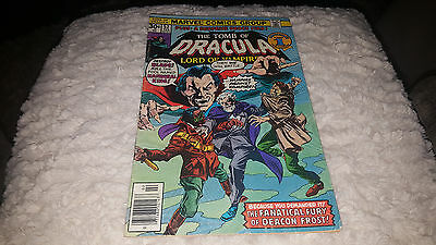 Tomb of Dracula #53 (Feb 1977, Marvel) FINE..ORIGIN AND DEATH OF DEACON FROST!!!