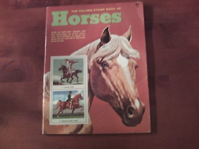 The Golden Stamp Book of Horses (Paperback, 1977)