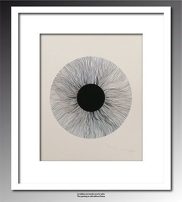 TABLEAU ART CONTEMPORAIN  Black eye 02..   ORIGINAL TEHOS