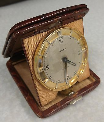 Vintage Doxa Swiss 8 days travel watch
