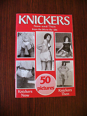 Vintage Risque 'Knickers Now and Then' Men's Interest Magazine
