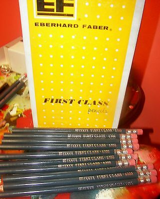 Vintage Eberhard Faber  6300 First Class Thick  Pencils Lot Of 20 Brand New!!