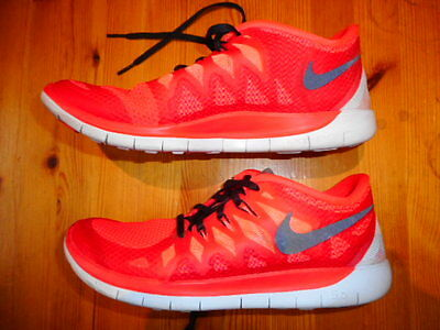 Nike Free 5.0 Running Shoes Kids Size Us 7 Excellent Condition
