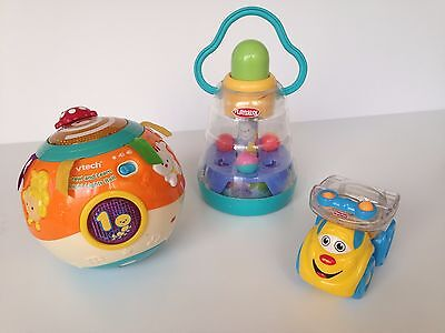 Baby Toys Bundle - Playskool, FISHER-PRICE, VTech