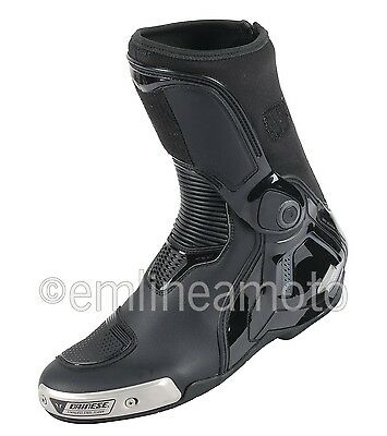Leather Boots Racing Torque D1 In  Dainese Black/Anthracite 42