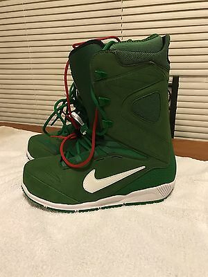 New Nike Zoom Kaiju Snowboarding Boots SB Green White SZ 11 - Or Best Offer