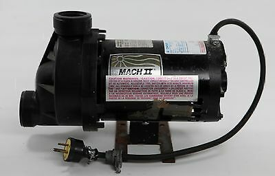 Mach II Century 1081 Pool and Spa Motor w/ Pump 10A 3450RPM  MAD1C8T 7-165236-21
