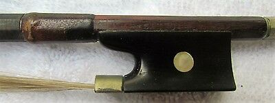 Good German  violin bow from the HAMMIG shop, stamped SAMPO