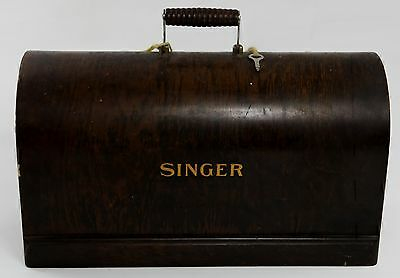 1924 Singer Sewing Machine 27K/127K 28K/128K JA Simanco Wood Case Cover