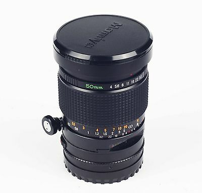 Mamiya 645 Sekor C Shift 50mm f4; TOP!