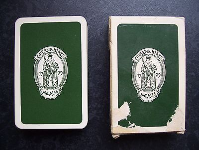 Greene King Ales Deck Of Playing Cards.(Ex)