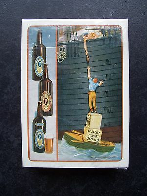 "Foster's Export Lager ""125 Year Celebration"" Deck Of Playing Cards.(Sealed=Mint)"