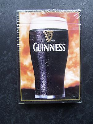 Guinness Slightly Over-Size Deck Of Playing Cards.(Sealed=Mint)