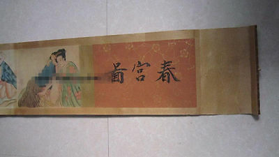 ancient painting shunga artistic erotic viusal painting scrolls 005