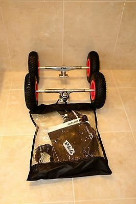 Radsail Rbk Trucks + Wheels Tyres + Leash + Various Instruction Manuals