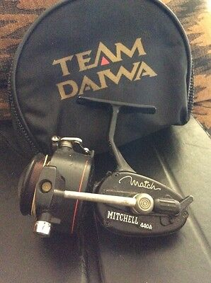 mitchell match 440a reel And Pouch