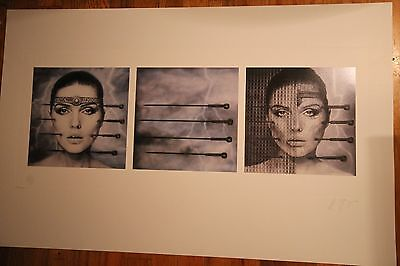Debbie Harry KOO KOO Cover Art by HR Giger BLONDIE Official Edition COA