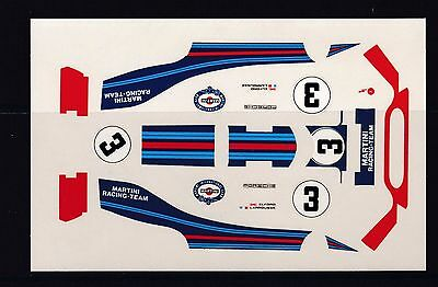 NEW BBR Decal Porsche 917 Martini Nr3 Le Mans Elford/Larrouse Scale 1/43