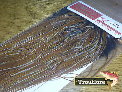 Whiting Dry Fly Saddle Furnace Pro Grade New Fly Tying Cape Feathers