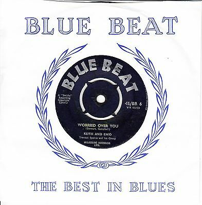 Keith And Enid *worried Over You* 1960 Uk Blue Beat Reggae Ska