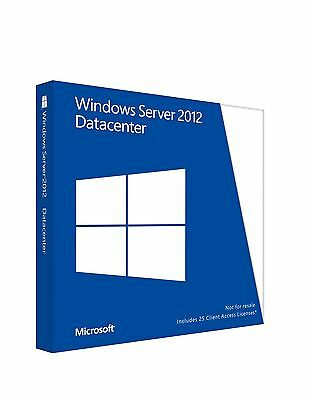 Microsoft Windows Server 2012 R2 Datacenter 64Bit Full Software Digitally Sent